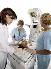 Panda Warmer with Clinical Staff