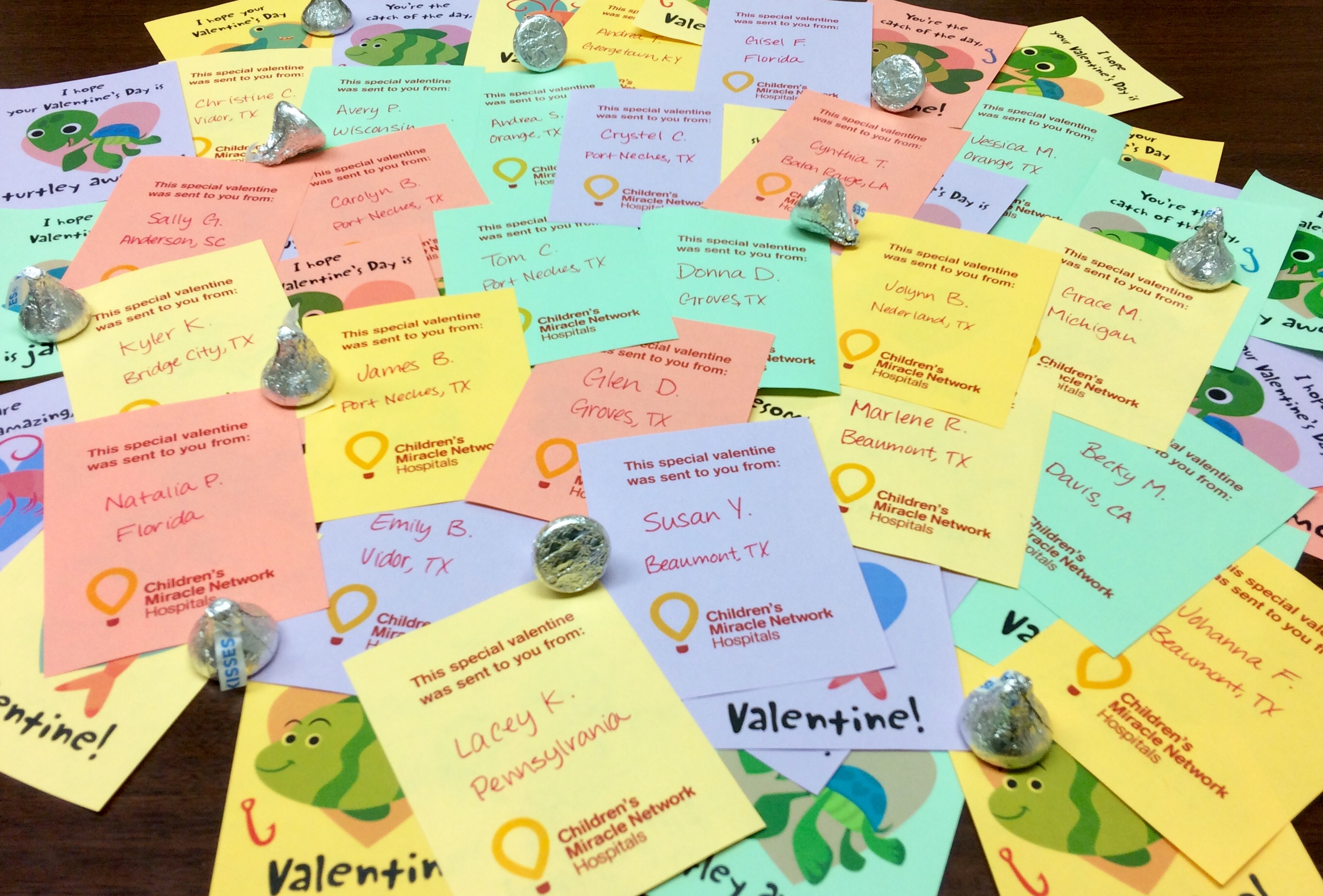 Valentines from Community